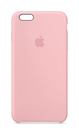 Apple MLCY2ZM/A Silikon Schutzhülle für Apple iPhone 6 Plus/6S Plus  pink - 1