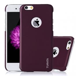 iPhone 6 Plus Case - Turata Ultra dünne Schutzhülle Sichtbaren Logo Premium Beschichtete Rutschfeste Oberfläche Lila Hülle für Apple iPhone 6 Plus 5.5 Zoll (2014) - 1
