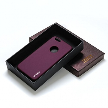 iPhone 6 Plus Case - Turata Ultra dünne Schutzhülle Sichtbaren Logo Premium Beschichtete Rutschfeste Oberfläche Lila Hülle für Apple iPhone 6 Plus 5.5 Zoll (2014) - 7