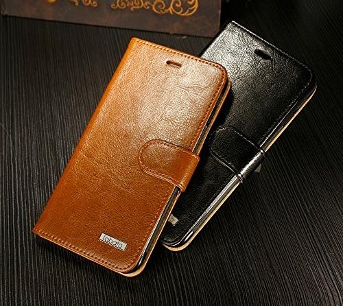iPhone 6s/6 Plus Hülle, Apple iPhone 6 Leder Handy Tasche Case Flip Cover Etui,Labato® WEICH Leicht Aufstellfunktion Visitenkartenfach SchutzhülleLedertasche Lederhülle Handyhülle Handytasche Hüllen für iPhone 6S Plus Zubehör braun Lbt-I6L-04Z20 - 6