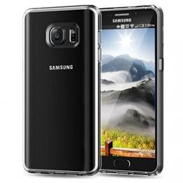 Note 5 Hülle, JETech® Samsung Galaxy Note 5 Hülle Tasche Schutzhülle Stoßdämpfung Bumper für Samsung Galaxy Note 5 Case Cover (Soft Klar) - 1