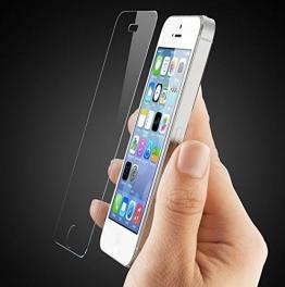 Premium Panzerglas 9H Pro - iPhone 6 6S Plus (5,5 Zoll) - Schutzfolie Hartglas Panzerglasfolie Handy Displayschutz Glasfolie Schutzglas Hartglasfolie Displayschutzfolie Smartphone - 1