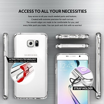 Ringke Fusion Galaxy Note 5 Hülle [Neu Staub Kappe][Crystal View] Ultra Slim Transparent Cover für Samsung Galaxy Note 5 Case - 1