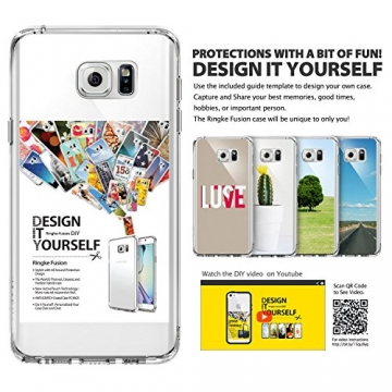 Ringke Fusion Galaxy Note 5 Hülle [Neu Staub Kappe][Crystal View] Ultra Slim Transparent Cover für Samsung Galaxy Note 5 Case - 3