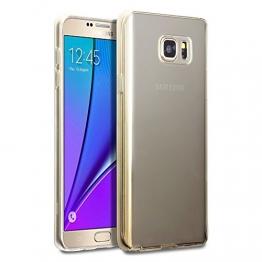 Samsung Note 5 Hülle, Terrapin TPU Schutzhülle Tasche Case Cover für Samsung Galaxy Note 5 Hülle Transparent - 1