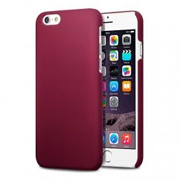Terrapin Gummiertes Hardskin Hülle für iPhone 6S / iPhone 6 Hülle Rot - 1