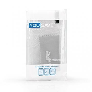 Yousave Accessories iPhone 6S / 6 Hülle Ultradünne 0.6mm Silikon Gel Schutzhülle - Transparent - 8
