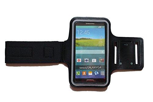 blank m schwarz sport armband f r htc one m7 fitness running handy tasche mit. Black Bedroom Furniture Sets. Home Design Ideas