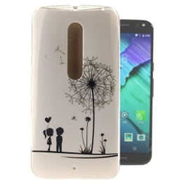 """Für Motorola Moto X Style , Leathlux Lovely Lover Ultra Schlank Weich Flexibel TPU Silikon Schutzhülle Handy Hülle Schale Tasche Case Cover für Motorola Moto X Style 5.7"""" (xt1570) - 1"""