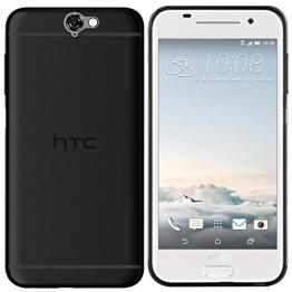 HTC One A9 Hülle in Schwarz - moodie Silikonhülle Case Schutzhülle Tasche für HTC A9 - 1