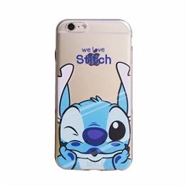 MaiJin® Transparent TPU Hülle Protection Case für Apple iPhone 5 / 5s / SE Stitch - 1