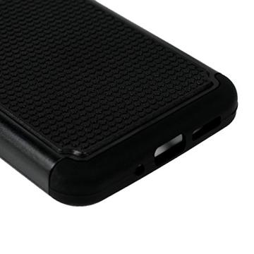 MAXFE.CO PC Handyhülle für LG G5 Hülle Tasche Back Cover Etui Rück Schutzhülle Harte Kunststoff PC Phone Case Hüllen mit Schwarz Muster Design - 6