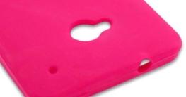 Poposh 10 in1 Zubehör Set Bunt Gel Silikon Hülle für HTC One M7 Schutzhülle Regenbogen Case Cover Tasche Etui Schutz Bumper - Grün Orange Rot Rosa Blau Weiss (Flexible Farbe) - 5