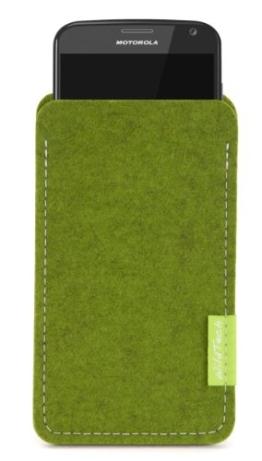 WildTech Sleeve für Motorola Moto X Style Hülle Tasche - 17 Farben (made in Germany) - Farn - 1