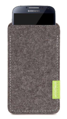 WildTech Sleeve für Samsung Galaxy S5 mini Hülle Tasche - 17 Farben (made in Germany) - Grau - 1