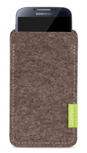 WildTech Sleeve für Samsung Galaxy S5 mini Hülle Tasche - 17 Farben (made in Germany) - Natur-Meliert - 1