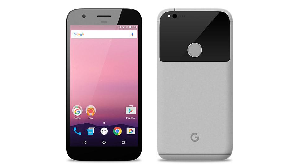 Google Pixel Vorder- & Rückseite