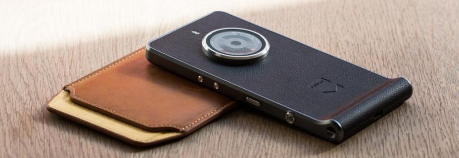 Kodak Ektra in schwarz