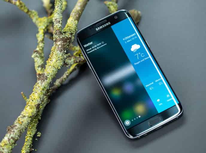 Samsung Galaxy S7 Edge - Deko