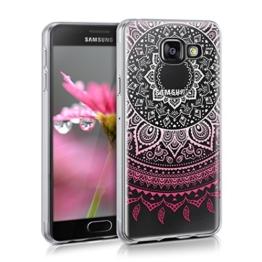 kwmobile Crystal Case Hülle für Samsung Galaxy A3 (2016) - TPU Silikon Cover im Indische Sonne Design - 1