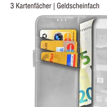 Samsung Galaxy S7 EDGE ( G935F ) Hülle von elephones mit UNZERBRECHLICHER SCHALE Handytasche Schutzhülle Handyschutz Handyhülle Wallet Case Klapp Schutz Handy Tasche Hülle Cover Etui Hüllen Taschen - 3