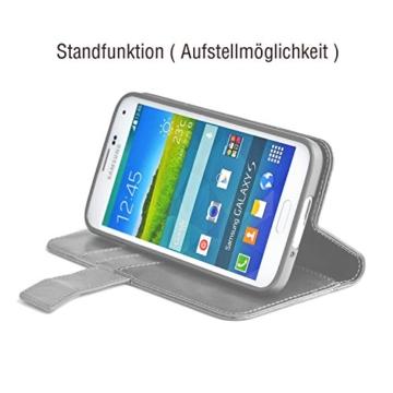 Samsung Galaxy S7 EDGE ( G935F ) Hülle von elephones mit UNZERBRECHLICHER SCHALE Handytasche Schutzhülle Handyschutz Handyhülle Wallet Case Klapp Schutz Handy Tasche Hülle Cover Etui Hüllen Taschen - 6