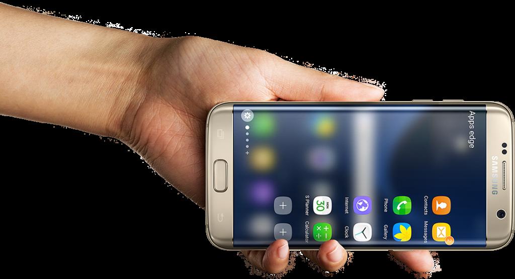 Samsung Galaxy S7 Edge - Quer