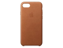 Apple MMY22ZM/A iPhone 7 Leather Hülle saddle braun -