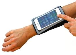 Armband: MyBand Armbinde für iPhone SE, 5S, 5C, 5,4S,4. iPod Touch, oder andere tragbare, gleichgroße oder kleinere Geräte -