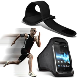 ( Black 143 x 71.4 ) Google Pixel XL 2 case High Quality Fitted Sports Armbands Running Bike Cycling Gym Jogging Ridding Arm Band case cover by i-Tronixs -
