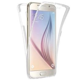 Connect Zone® Samsung Galaxy S8 Klar Durchsichtig Ultradünn 360-degree Schützend Stoßfest Vorne und Hinten Ganzkörper TPU Silikon-Gel-hülle - Klar Transparent, Samsung Galaxy S8 -