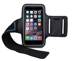 CoverKingz Apple iPhone 7 Sportarmband Fitness Hülle Jogging-Armband Lauf-Tasche Running-Case schwarz gym -