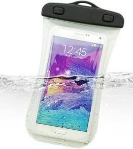Dolder Arc Shape Wasserdichte Handyhülle Tasche füriPhone 7 plus/6s plus,Samsung Galaxy S8/S8 PLUS/S7 EDGE/A5/A7/J5/J7,HUAWEI P10/P10 Plus/P9/P9 plus/P9 lite/MATE 9/8, Honor 8/Honor 8 PRO/Honor 5X, LG G5/G6,HTC U PLAY/ULTRA,MOTO G4/G5 MOTO Z,Lumia 950/950XL,sony Xperia XA1 ULTRA/Xperia XZs/ Xperia XZp,OnePlus 3 usw. in weiss -