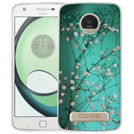 Dooki, Moto Z Play Hülle, Weiche Silikon TPU Schützend Handy Zubehör Tasche Schutzhülle für Motorola Moto Z Play (A-04) -