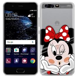Easbuy Handy Hülle Soft Silikon Case Etui Tasche für Huawei P10 Smartphone Cover Handytasche Handyhülle Schutzhülle -