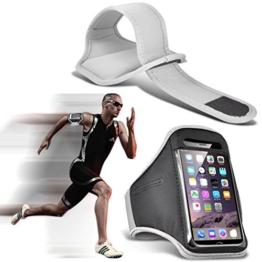 Fone-Case (White) Google Pixel XL Einstellbare Sport-Armband Fall-Abdeckung für Laufen Jogging Radfahren Gym -