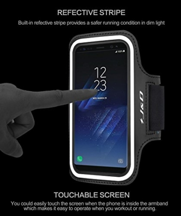 galaxy s8 armband j d sport armband f r samsung galaxy s8. Black Bedroom Furniture Sets. Home Design Ideas