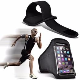 Google Pixel - Einstellbare Sport-Armband Fall-Abdeckung für Laufen Jogging Radfahren Gym - Black -