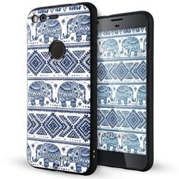 Google Pixel hülle,Lizimandu TPU 3D Handyhülle Muster Case Cover Für Google Pixel(Elefant/Elephant) -