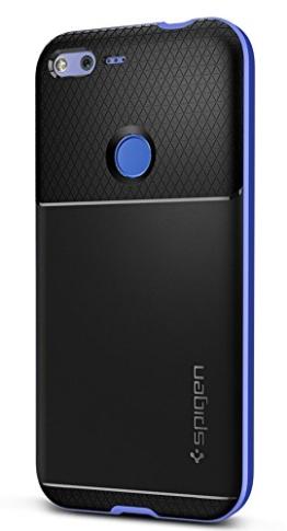 Google Pixel XL Hülle, Spigen® [Neo Hybrid] Dual-Layer Schutzrahmen [Blau] TPU Schale + PC Farbenrahmen / 2-teiliges Premium Case Schutzhülle für Google Pixel XL Case, Google Pixel XL Cover, Google Pixel 2016 - Blue (F15CS20930) -