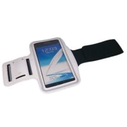 handy-point XXXL Sportarmband Training Fitness Armhalter Armband für Sport, Laufen, Joggen mit Fach für Schlüssel, Kopfhörer für iPhone 6 Plus, 6S Plus, iPhone 7 Plus, Samsung Galaxy Note 1, Note 2, Note 3, Note 4, Note 5, Note Edge, S6 Edge, S7 Edge, Grand Neo, Sony Xperia Z, Z1, Z2, Z3, Z5, Z5 Premium, LG G3, G3s, G4, G5, L Bello, G Flex 2, L80, G2, HTC One M8, E8, M9, Desire Eye, Desire 820, Desire 620, Lumia 535, 930, 830, Huawei P8, P8 Lite, P9, P9 Lite, Weiß -