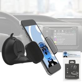 Heavy Duty (Gehäuse kompatibel) Windschutzscheibe Armaturenbrett Autohalterung für Samsung Galaxy S8 Plus 2017 -