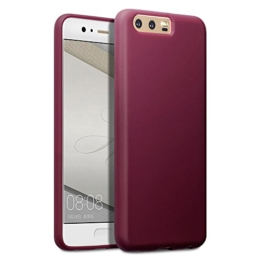 Huawei P10 Case, Terrapin TPU Schutzhülle Tasche Case Cover für Huawei P10 Hülle Matt Rot -
