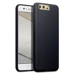 Huawei P10 Case, Terrapin TPU Schutzhülle Tasche Case Cover für Huawei P10 Hülle Matt Schwarz -