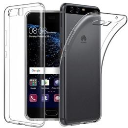 Huawei P10 Hülle Case, EasyAcc Liquid Crystal Ultra Dünn Crystal Clear Transparent Handyhülle Cover Soft Premium-TPU Durchsichtige Schutzhülle Backcover Slimcase für Huawei P10 -