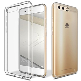 Huawei P10 Hülle, KingShark TPU Schutzhülle Dünn Schlank Weich Flexibel Silikon Anti-Kratzer Schutzhülle Abdeckung Case Cover für Huawei P10 (transparent) -