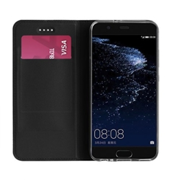 Huawei P10 hülle, KuGi Huawei P10 hülle / Fall - BW Stil Hochwertige ultradünne PU-Standplatz hülle für Huawei P10 5.1 Zoll smartphone.(Grau) -