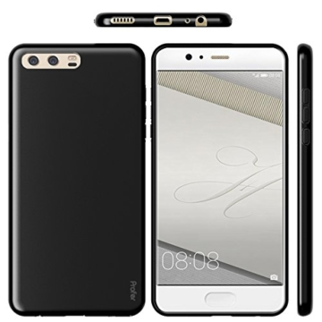 Huawei P10 Hülle, Profer TPU Ultradünn Schutzhülle Flexibel Silikon Case Cover Backcover Slimcase Rückschale für Huawei P10 (5,2