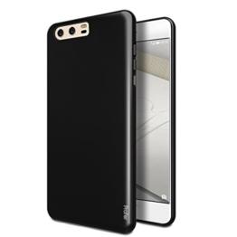 "Huawei P10 Hülle, Profer TPU Ultradünn Schutzhülle Flexibel Silikon Case Cover Backcover Slimcase Rückschale für Huawei P10 (5,2"") (TPU-Schwarz) -"