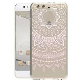 Huawei P10 Hülle Silikon , TUTUWEN Transparent Handyhülle Schutzhülle TPU Clear Case Backcover Bumper Slimcase Etui Tasche für Huawei P10 -